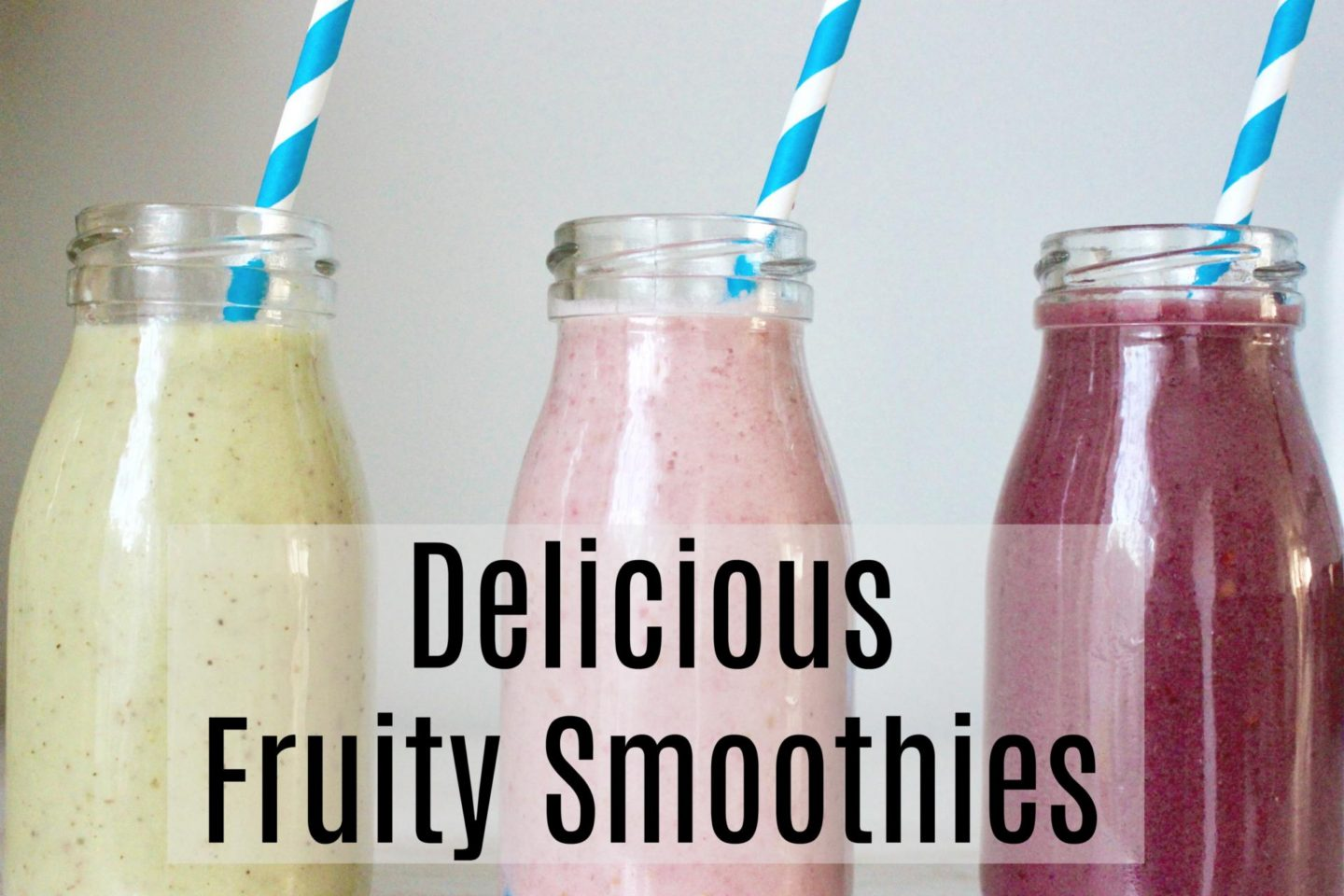Delicious Fruit Smoothies With Vita Coco
