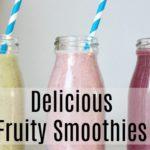 Delicious Fruit Smoothies With Vita Coco