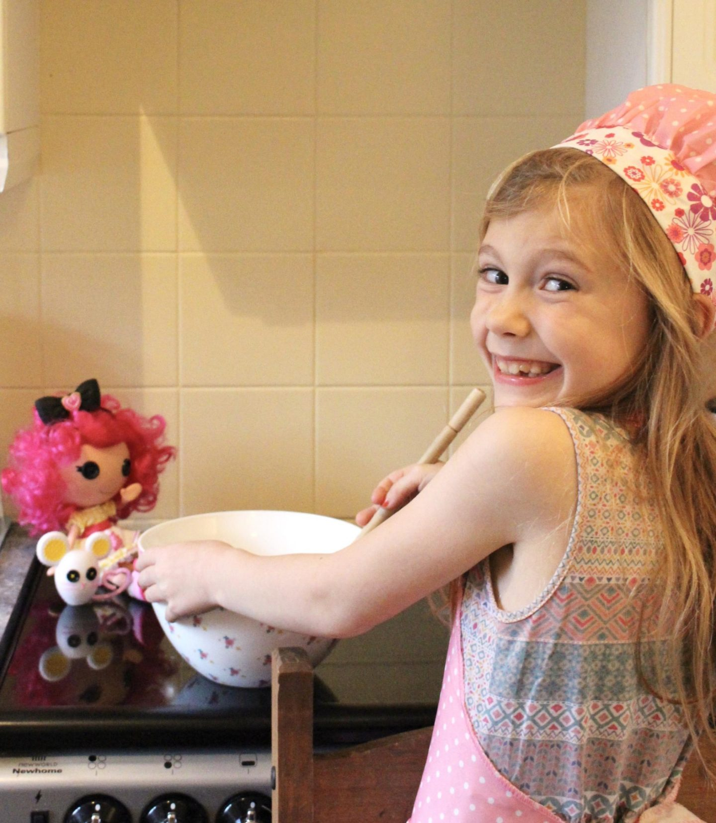 Halloween Baking With Lalaloopsy