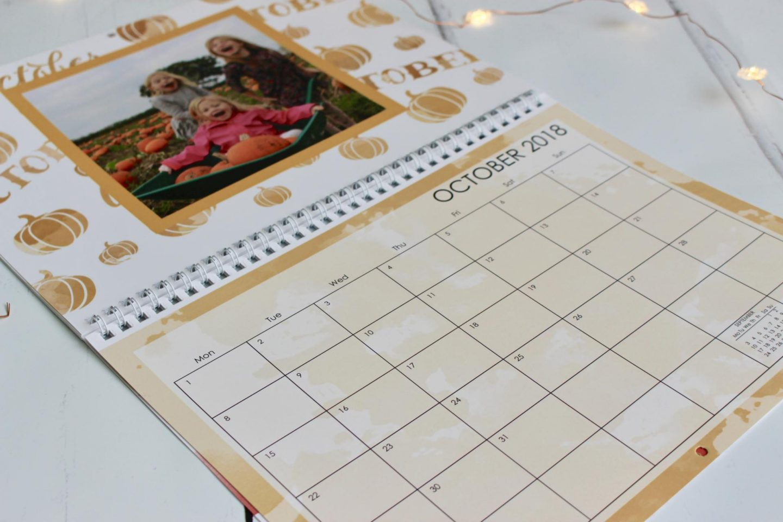 Snapfish wall calendar