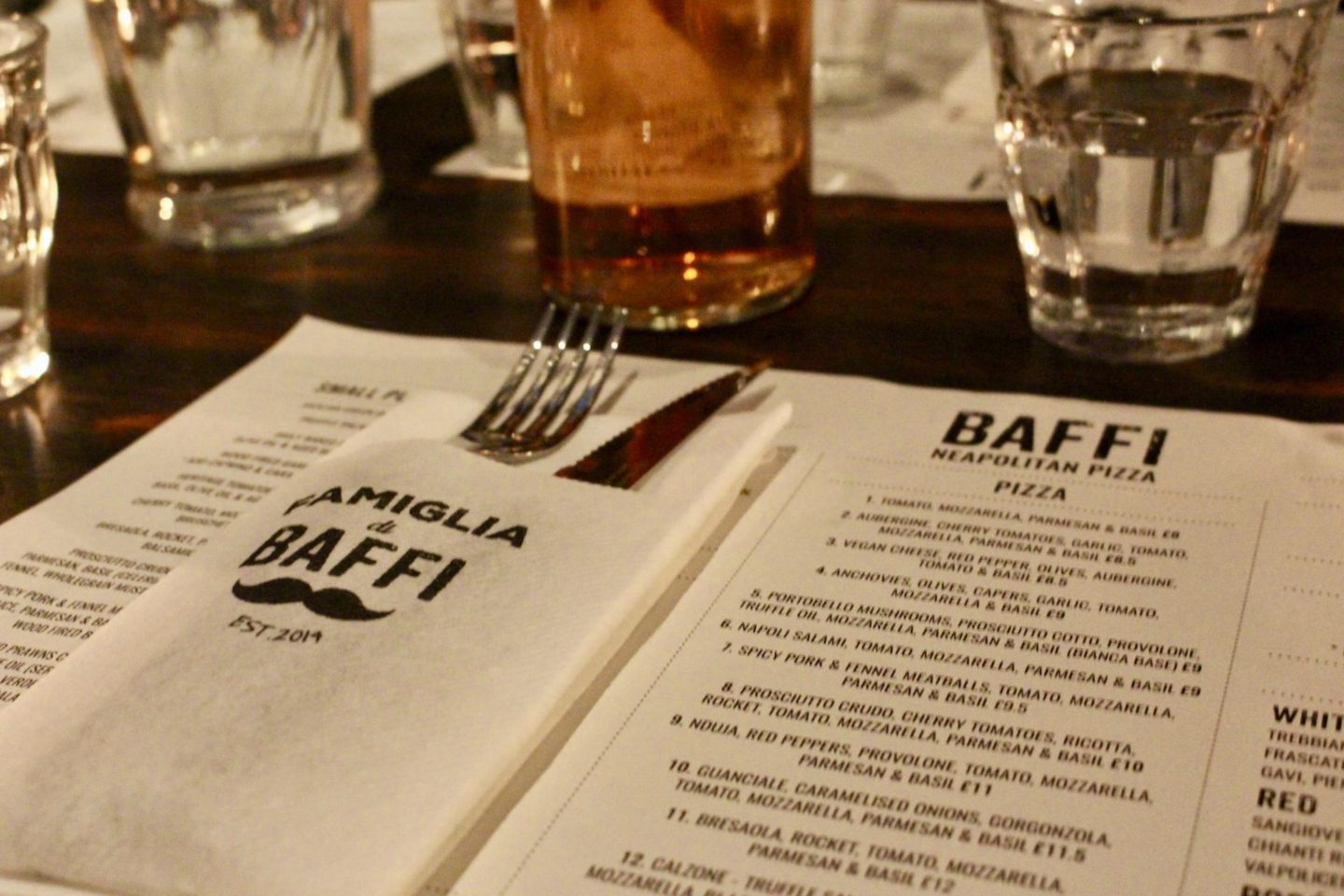 Baffi Pizza – Old Town Poole