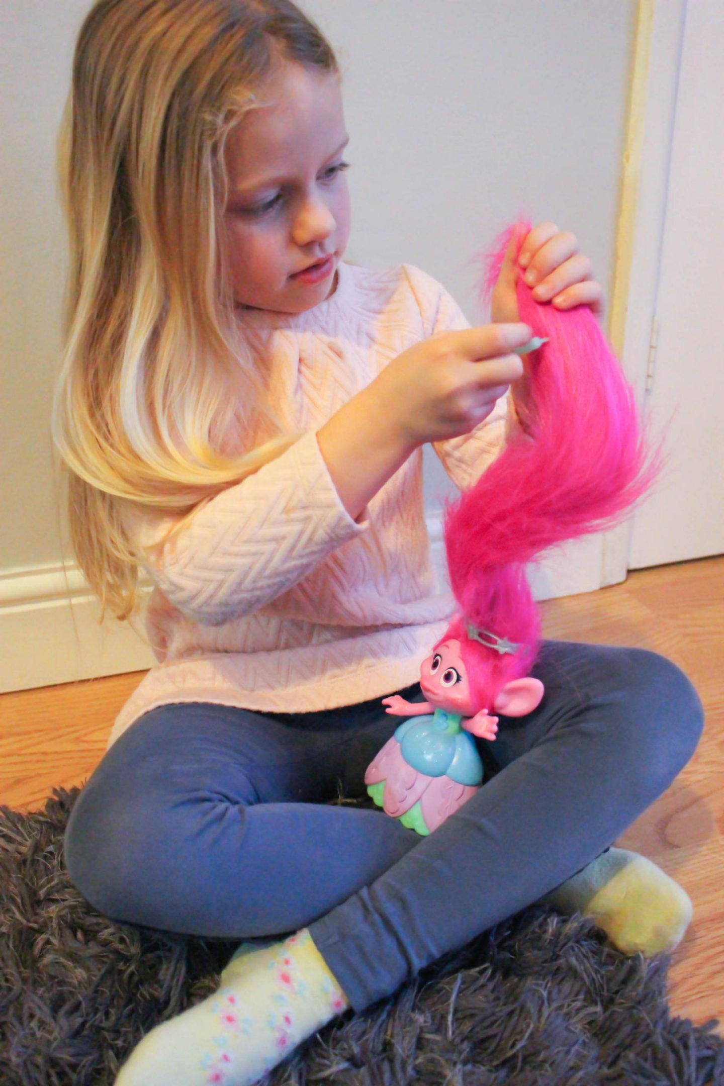 Trolls Hair In The Air Poppy Doll