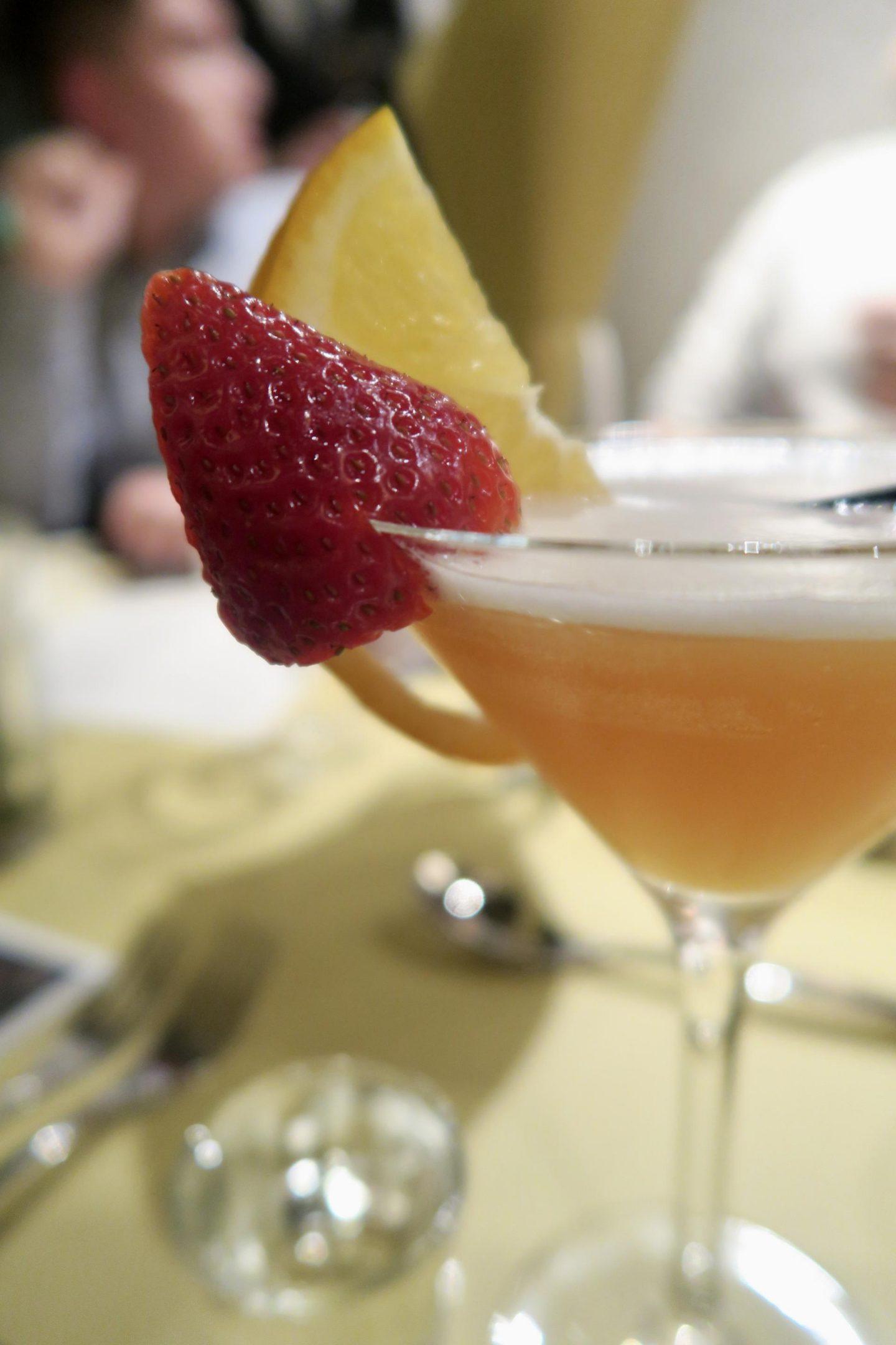 cocktails at Grosvenor Casino