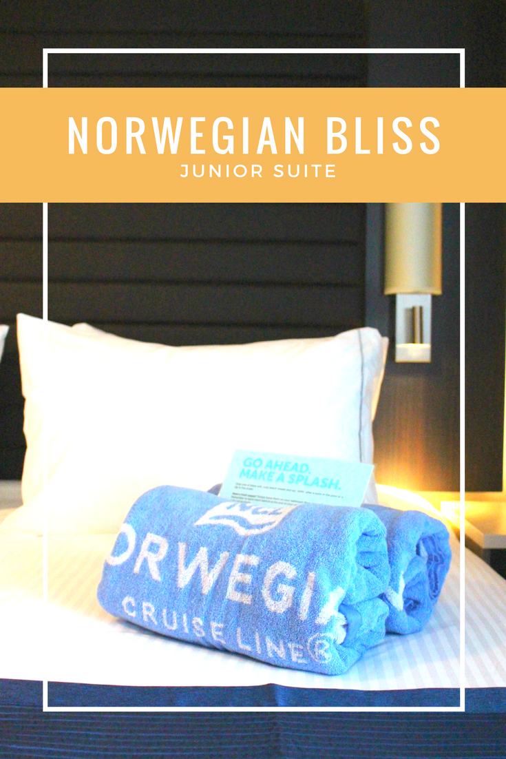 Norwegian Bliss Junior Suite pin