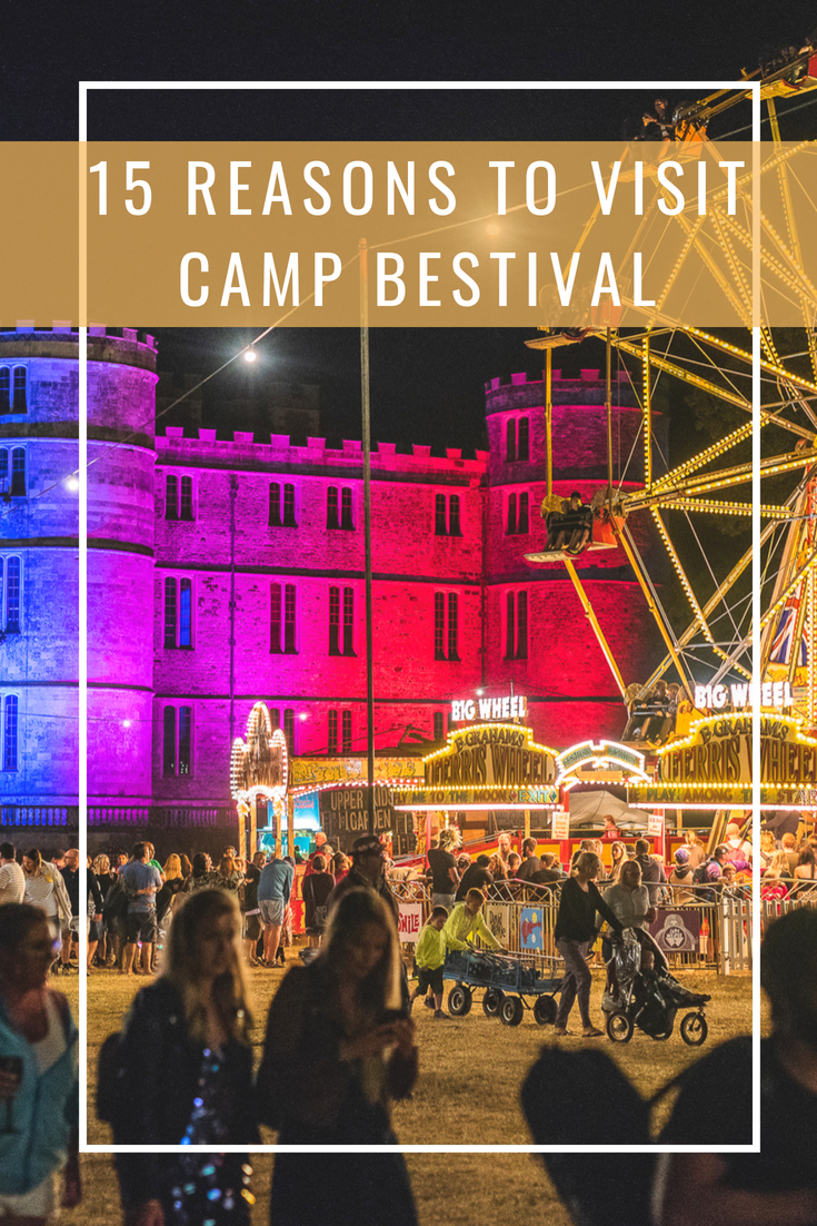 15 reasons to visit Camp Bestival