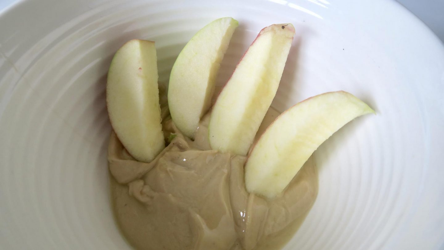 Cashew Butter and Apple Bites