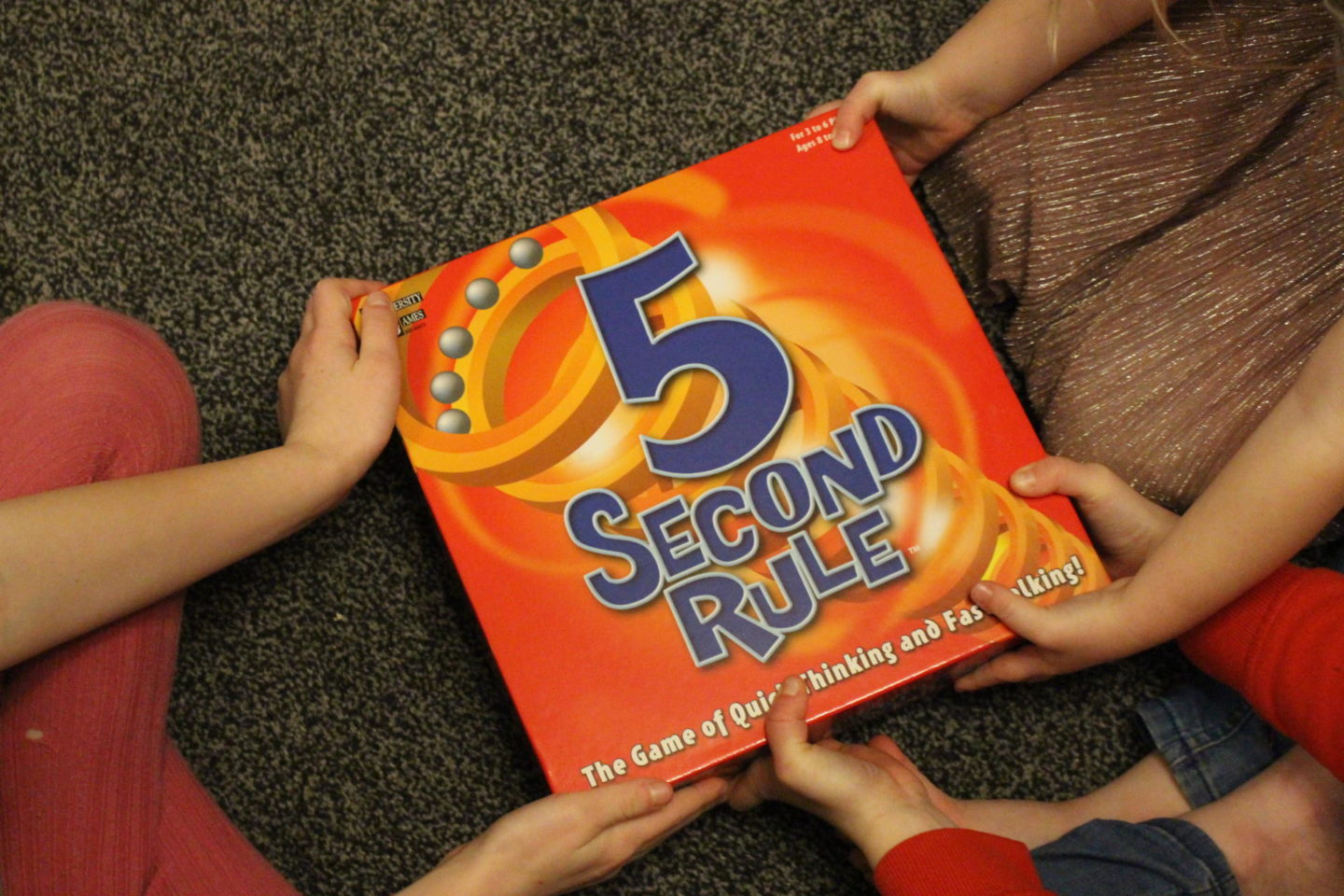Family Game Night With 5 Second Rule |Competition|