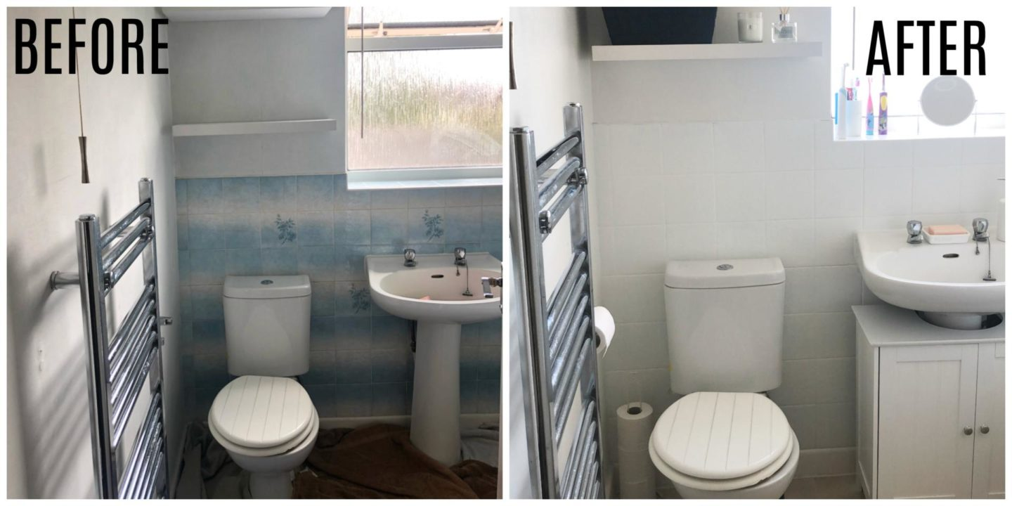 Bathroom Makeover For Less Than £100!