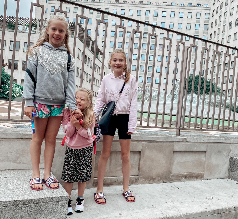 London with 4 children? No Sweat..